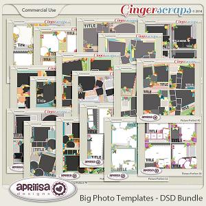 Big Photo Templates - DSD Bundle
