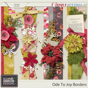 Ode to Joy Borders by Aimee Harrison