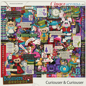 Curiouser & Curiouser by BoomersGirl Designs