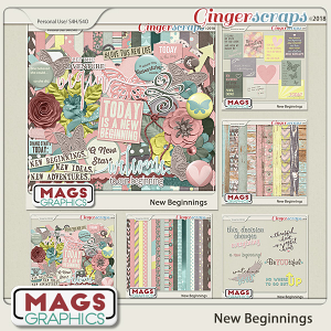 New Beginnings BUNDLE by MagsGraphics