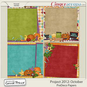 Retiring Soon - Project 2012: October - PreDeco Papers