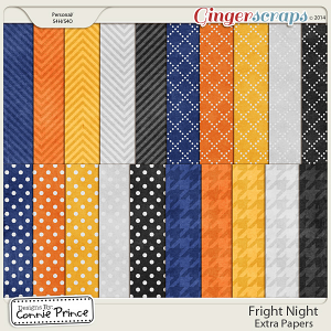 Fright Night - Extra Papers
