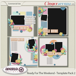 Ready For The Weekend - Template Pack 2