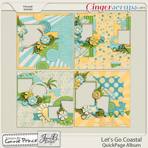 Let's Go Coastal  - QuickPage Album