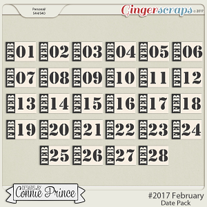 #2017 February - Date Pack