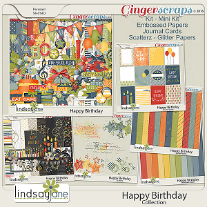 Happy Birthday Collection by Lindsay Jane