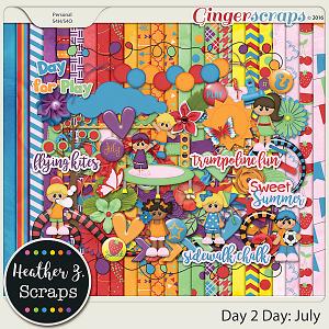 Day 2 Day: July KIT by Heather Z Scraps
