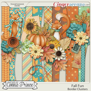 Fall Fun - Border Clusters