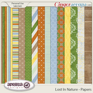 Lost In Nature - Papers by Aprilisa Designs