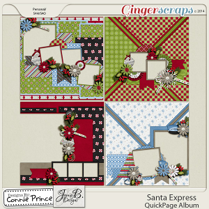Santa Express - QuickPage Album