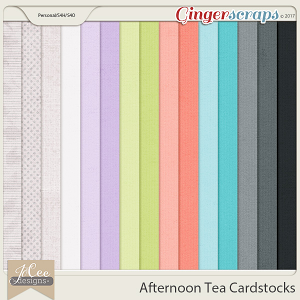 Afternoon Tea Cardstocks