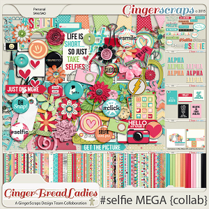 GingerBread Ladies MEGA Collab: #selfie