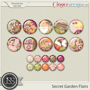 Secret Garden Flairs