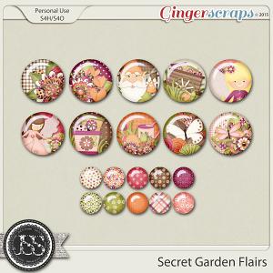 Secret Garden Flairs