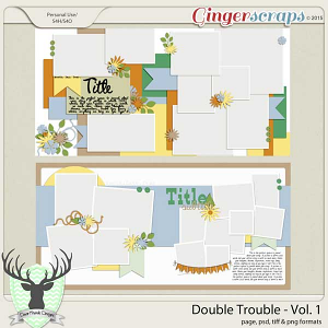 April 2015 Buffet: Double Trouble Vol 1