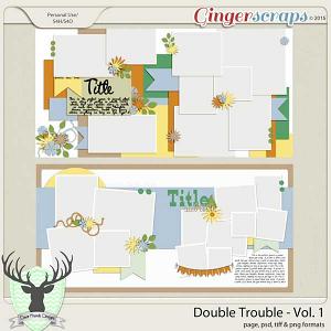 April 2015 Buffet: Double Trouble Vol 1