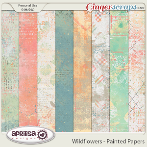 Wildflowers - Painted Papers