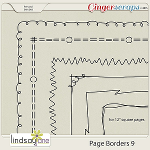 Page Borders 9 by Lindsay Jane