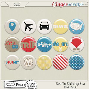 Retiring Soon - Sea To Shining Sea - Flair Pack