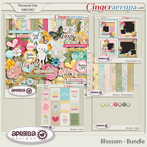 Blossom - Bundle by Aprilisa Designs