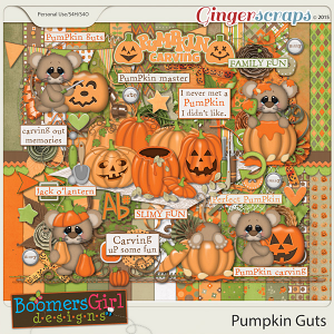 Pumpkin Guts by BoomersGirl Designs