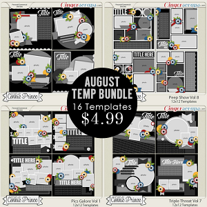 August 2015 Template Bundle
