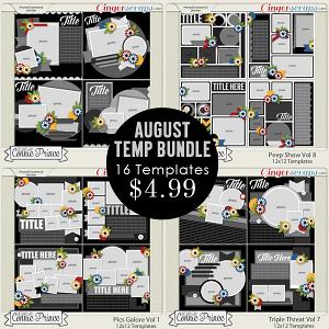 August 2015 Template Bundle