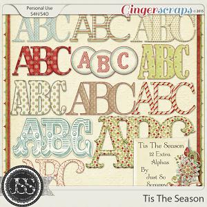 Tis The Season Alphabets