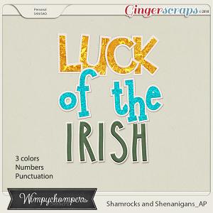 Shamrocks and Shenanigans- AP