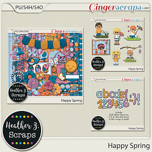 Happy Spring KIT by Heather Z Scraps