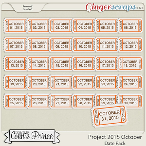 Project 2015 October - Dates
