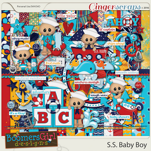 S.S. Baby Boy by BoomersGirl Designs