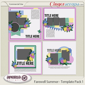 Farewell Summer - Template Pack 1