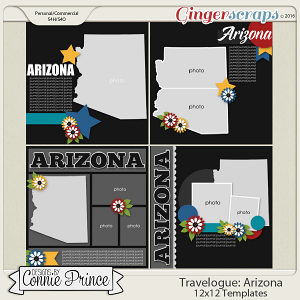 Travelogue Arizona - 12x12 Temps (CU Ok)