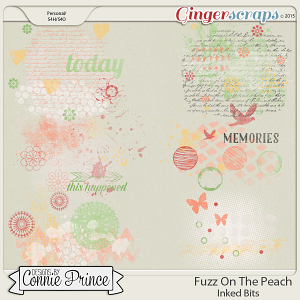 Fuzz On The Peach - Inked Bits