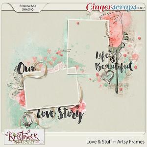 Love & Stuff Artsy Frames