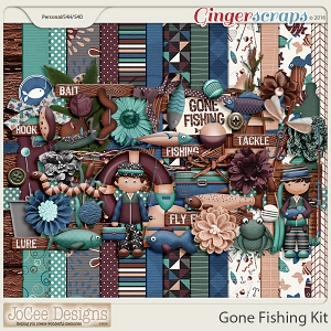 Gone Fishing Kit by JoCee Designs