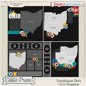 Travelogue Ohio - 12x12 Temps (CU Ok)