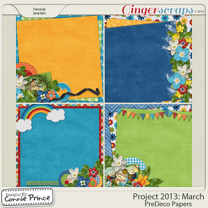 Project 2013: March - PreDeco Papers