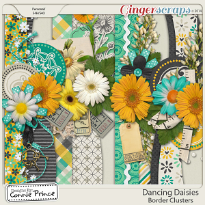 Retiring Soon - Dancing Daisies - Border Clusters