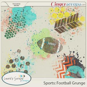 Sports: Football Grunge