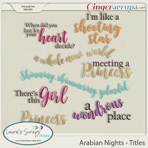 Arabian Nights Titles
