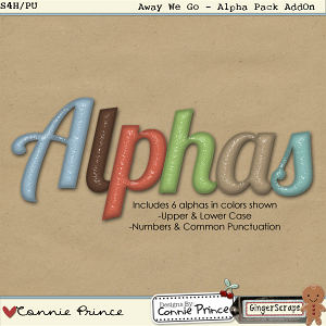 Retiring Soon - Away We Go: Alpha Pack AddOn by Connie Prince