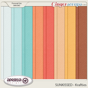 SUNKISSED Krafties by Aprilisa Designs
