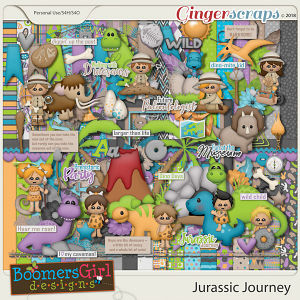 Jurassic Journey by BoomersGirl Designs