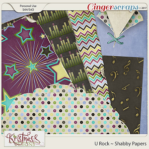 U Rock Shabby Papers