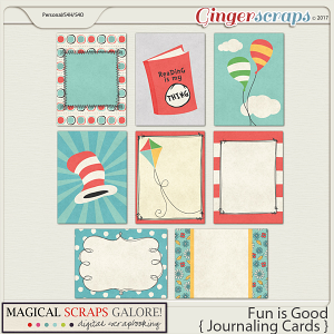 Fun is Good (journaling cards)