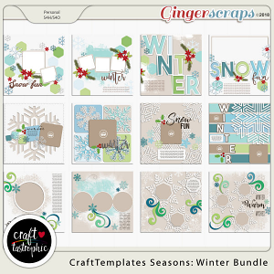 Craft-Templates Seasons Winter Bundle
