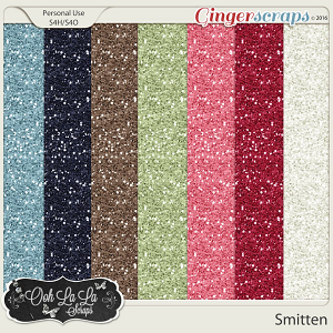 Smitten Glitter Sheets