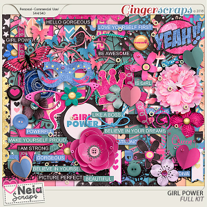 Girl Power - Full Kit - by Neia Scraps